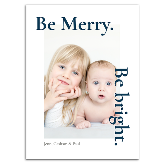 Be Merry. Be Bright.